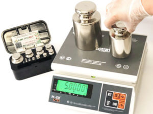 Поверка и ремонт лабораторного и весового оборудования